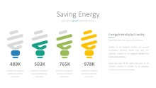 PowerPoint Infographic - 054 Energy Bulb