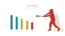 PowerPoint Infographic - 008 Baseball