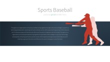PowerPoint Infographic - 026 Baseball