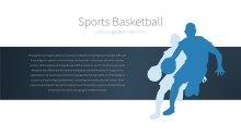 PowerPoint Infographic - 027 Basketball