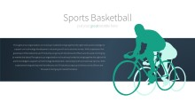 PowerPoint Infographic - 028 Biking