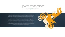PowerPoint Infographic - 029 Motorcross