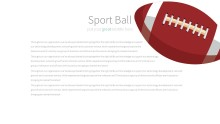 PowerPoint Infographic - 041 Footballs