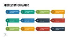 PowerPoint Infographic - 048 - Timeline Long Process