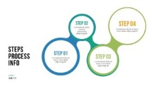 PowerPoint Infographic - 077 - Steps Circles