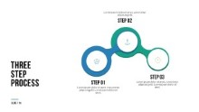 PowerPoint Infographic - 079 - Steps Circles