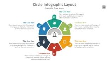 PowerPoint Infographic - Circle 021
