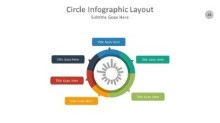 PowerPoint Infographic - Circle 024