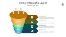 PowerPoint Infographic - Funnel 060