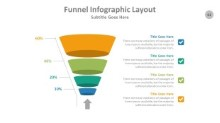 PowerPoint Infographic - Funnel 061