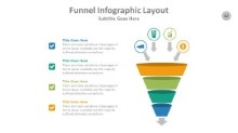 PowerPoint Infographic - Funnel 062