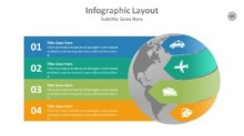 PowerPoint Infographic - Globe 095