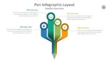 PowerPoint Infographic - Pen 012