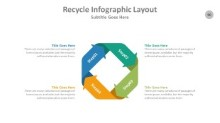 PowerPoint Infographic - Recycle 090