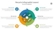 PowerPoint Infographic - Recycle 092