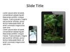 Mobile Photos 2 PPT PowerPoint presentation slide layout