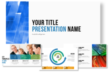powerpoint premium presentation template set