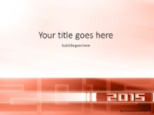 01 2015 Red PPT PowerPoint Template Background