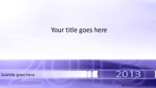 2013 01 Purple Widescreen PPT PowerPoint Template Background