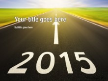 2015 Future Ahead PPT PowerPoint Template Background