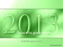 2013 04 PPT PowerPoint Template Background