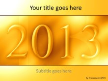2013 07 PPT PowerPoint Template Background