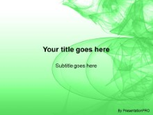 Download abstract abyss green PowerPoint Template and other software plugins for Microsoft PowerPoint