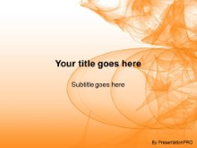 Download abstract abyss orange PowerPoint Template and other software plugins for Microsoft PowerPoint