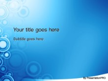 Download roundabout blue PowerPoint Template and other software plugins for Microsoft PowerPoint
