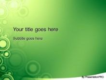 Download roundabout green PowerPoint Template and other software plugins for Microsoft PowerPoint