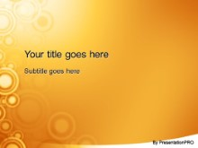 Download roundabout orange PowerPoint Template and other software plugins for Microsoft PowerPoint