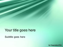 Download satin green PowerPoint Template and other software plugins for Microsoft PowerPoint