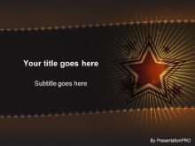 Download starfield gold PowerPoint Template and other software plugins for Microsoft PowerPoint