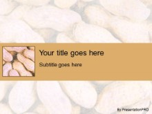 Download peanut PowerPoint Template and other software plugins for Microsoft PowerPoint