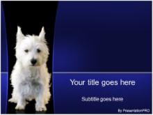 Download white dog PowerPoint Template and other software plugins for Microsoft PowerPoint