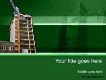 Download building 07 green PowerPoint Template and other software plugins for Microsoft PowerPoint