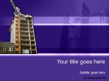 Download building 07 purple PowerPoint Template and other software plugins for Microsoft PowerPoint