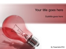 PowerPoint Templates - Idea Brainstorm Red
