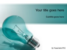 PowerPoint Templates - Idea Brainstorm Teal