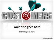 PowerPoint Templates - Target Customer Bullseye