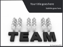 PowerPoint Templates - Team In Motion B