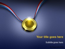 PowerPoint Templates - The Gold Medal