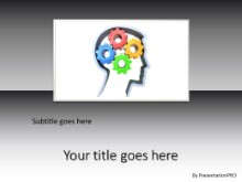 PowerPoint Templates - Thought Process B