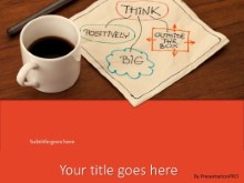 PowerPoint Templates - Thoughts Over Coffee Red