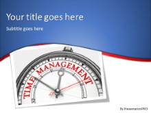 PowerPoint Templates - Time Management A