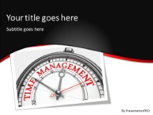 PowerPoint Templates - Time Management B