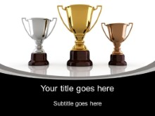 PowerPoint Templates - Trophy Winners