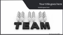 PowerPoint Templates - Team In Motion B Widescreen