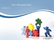 PowerPoint Templates - Teamwork Solution