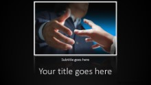 PowerPoint Templates - The Agreement Widescreen
